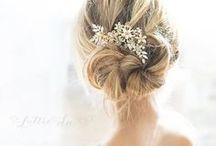 JUULS ♥ Bridal Hair / ♥Let's make this board awesome together! ♥ⓜⓔⓢⓢⓐⓖⓔ ⓜⓔ if you want to be added ♥ #amazinghair #bridalhair #marryme #flowers #hairstyle