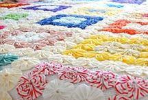Handmade - Yoyo Madness / Yoyo Fabric  / by Gayla Whitfield