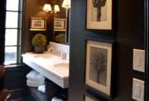 Bathrooms / by Carly @ Hunted Home