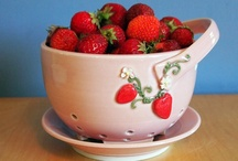 Strawberry Dream Kitchen / I've always wanted to have a Strawberry theme for my kitchen (when I get one).