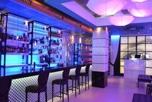 Bares de copas de diseño [] Design Cocktail bars. / Interiores de bares de copas.