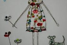 Embroidery and Punch Needle / embroidery / by Sharon Marie, SME