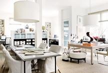 Espacios de trabajo [] Work spaces. / Lo importante que es trabajar en un sitio agradable [] Nice Interiors to work