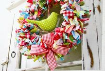 Handmade - Wreaths / Wreaths / by Gayla Whitfield