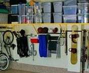 For The Home - Garage / Organizing and storage ideas for the garage.
