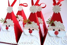 Crafts - Paper Christmas / Crafts to make for Christmas with paper.