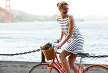 Biker Chic / Looking stylish and chic on bicycles