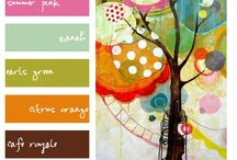 Art - Color Inspiration / Inspiring Color / by Gayla Whitfield