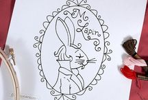 Art - Doodles / Embroidery Patterns / by Gayla Whitfield