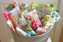 Handmade - Fabric Fun / Fabric / by Gayla Whitfield