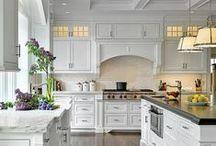 Kitchen Cottage Style / Contemporary Cottage Kitchen Ideas / by Gayla Whitfield