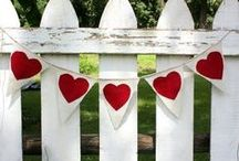 Holidays - Valentine's Day / Valentine's Day decorating, crafts and gifts to make.