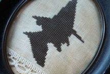 Craft - Cross Stich / Cross Stitch Examples & Patterns / by Gayla Whitfield