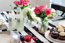Feels Like Good Times / Entertaining tips and décor themes to help you feel even more with friends and family, whether you're planning a low-key night or blowout bash.