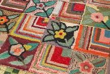Handmade - Hooked Rugs & Patterns / hooked rugs, pillows etc / by Gayla Whitfield