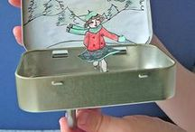 Crafts - Altoid Tins / Things to make with Altoid tins.