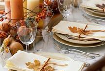 Holidays - Thanksgiving / Thanksgiving crafts and decorating ideas.