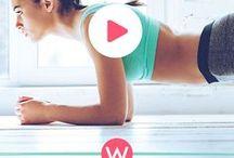 Fitnessübungen ♥ / Du hast Lust auf coole Workouts? Bei unseren Fitnessübungen kannst du direkt mitmachen, denn alle Artikel enthalten ein tolles Video.