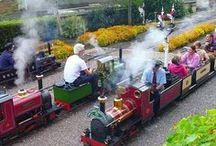 Garden Railways / Small railways that exisit in gardens and parks