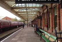 Railway Stations / Railway stations from the Uk and further afield