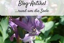 Blog Artikel - rund um die Seele