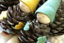 Šiškáci a vianocne dekoracie / Vianoce, vyzdoba