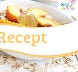 Recept / Hälsosamma recept att samla till din kosthållning, lär dig tillbereda hälsosamma måltider.