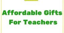 Affordable Gifts for Teachers