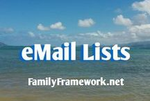 eMail Lists / Learning more about how to engage my readers through personalized emails.