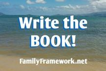 Write the BOOK! / Just start writing the book already!