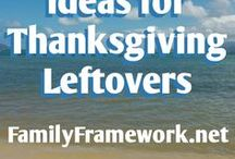 Ideas for Thanksgiving Leftovers / Ideas for using your Thanksgiving leftovers are created and collected (curated) here. Feel free to send suggested pins to me!