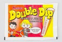 Retro-Süßigkeiten-Klassiker / Unser Frühlingsspecial ist das Retrokult-Geschenkset. Gefüllt mit Snacks aus den 90er Jahren.