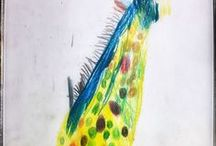 Children Art / Art, drawings and collages by children