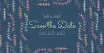 Save The Date Templates DIY Date / Create beautiful, custom Save The Date cards for your wedding or special occasion. Create, customize and share your design in seconds or download and print your unique design.