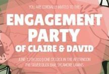 Engagement Announcement Cards DIY / You're engaged, congratulations! Now let's shout it from the rooftops. Create an engagement invitation worthy of the occasion with our incredible simple online design software. Start by choosing your favorite template from our library of handcrafted engagement designs, you can customize each element to ensure your engagement announcement design is unique. Share the news instantly on social media or download your announcement or engagement invitations and share it by email or in print.