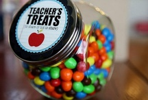 Teacher gifts and treats