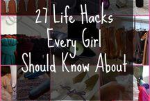 Life Hacks / by Charity Preston