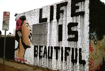 street art  / by Caroline Bontia