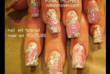 Diva Nail Art Gallery with Full Tutorials / Diva nails like this done for practically free using inexpensive materials and your imagination. learn here: https://www.youtube.com/user/robinmosesnailart and tag me when you copy #inspiredbyrobinmoses