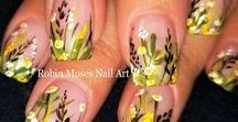 Flower Nail Art Gallery with full Tutorials / Here is a #flowernails #nailartgallery dedicated 200 different types of flowers!!!  Please know I do this all for free and if you copy (which i hope you do) please post and tag with #inspiredbyrobinmoses so others can find me and learn. I am here to teach and have fun with new artists who want to learn!  @robinmosesnailart #robinmosesnailart   Brushes I use at robinmosesnailart.com :D:D