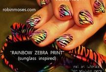 """HOT nail art pictures with tutorial / here are hot nail art designs. nails you would wear out! if you copy, please say """"inspired by robin moses"""" it is very important that while i share my art, my name is passed so that i can teach full time and also paint canvas for galleries. it is my goal and dream. :) please spread the word! / by Robin Moses"""