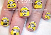 Cartoons, Logos & Faces NAIL ART by robin moses / Here are all of the Nail art Tutorials I do for different Cartoons and Logod and Faces in general. By watching my tutorials, I know you will pick up many tips in getting any cartoon you are attempting just right. Good luck and please visit my fanpage and show us if you try one of my tutorials, you are always welcome there and it is like a school environment where all levels come together and have fun. :D my love to you guys!  / by Robin Moses
