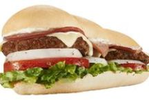 Straight from the Grill to YOU! / Mr. Hero's signature hot subs and sandwiches