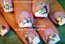 """robin moses nail art videos / new videos up every mon, wed and friday! please say """"inspired by robin moses"""" if you copy! with each photo there is a link to the tutorial! my love to you!"""