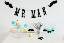 little man party / by Amy Cluck-McAlister