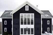 H O M E : Exteriors / A little bit farmhouse // A little bit Industrial // A little bit Scandinavian // A whole lotta simple + classic  / by J.REB & CO.