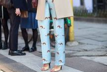 On Trend: Pajamas with Style / Give the denim a break...pajama-style outfits
