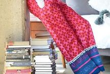 Pink + Red = Love / The perfect loungewear fashion for a cozy, casual outfit at home or on the go -- all of these pants and capris are in your favorite pink and red prints.