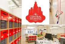 Cool coworking spaces / With remote and flexible working on the  rise, we have started to see a lot more co-working spaces. Here are some of our favorites.  www.posturepeople.co.uk