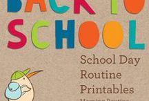 Back to school / Ritorno a scuola, accoglienza / by Lella